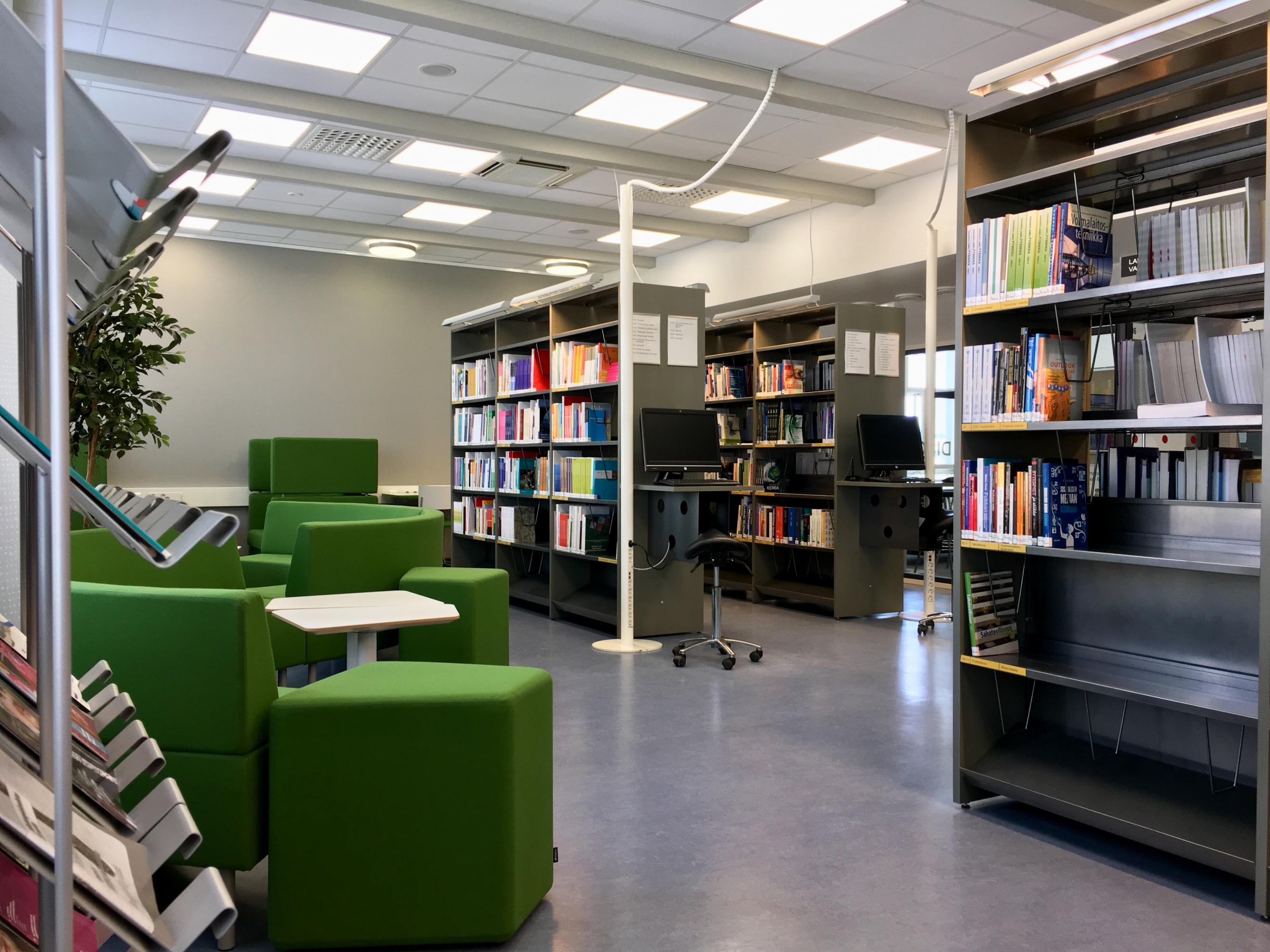 Savonlinnan kampuskirjasto (Xamk) – Kirjastohakemisto