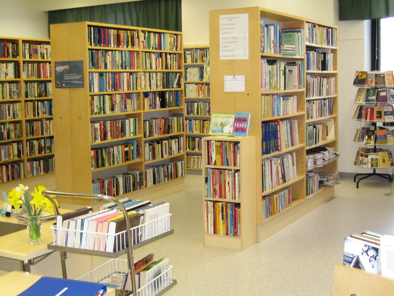 Törnävä Hospital Library