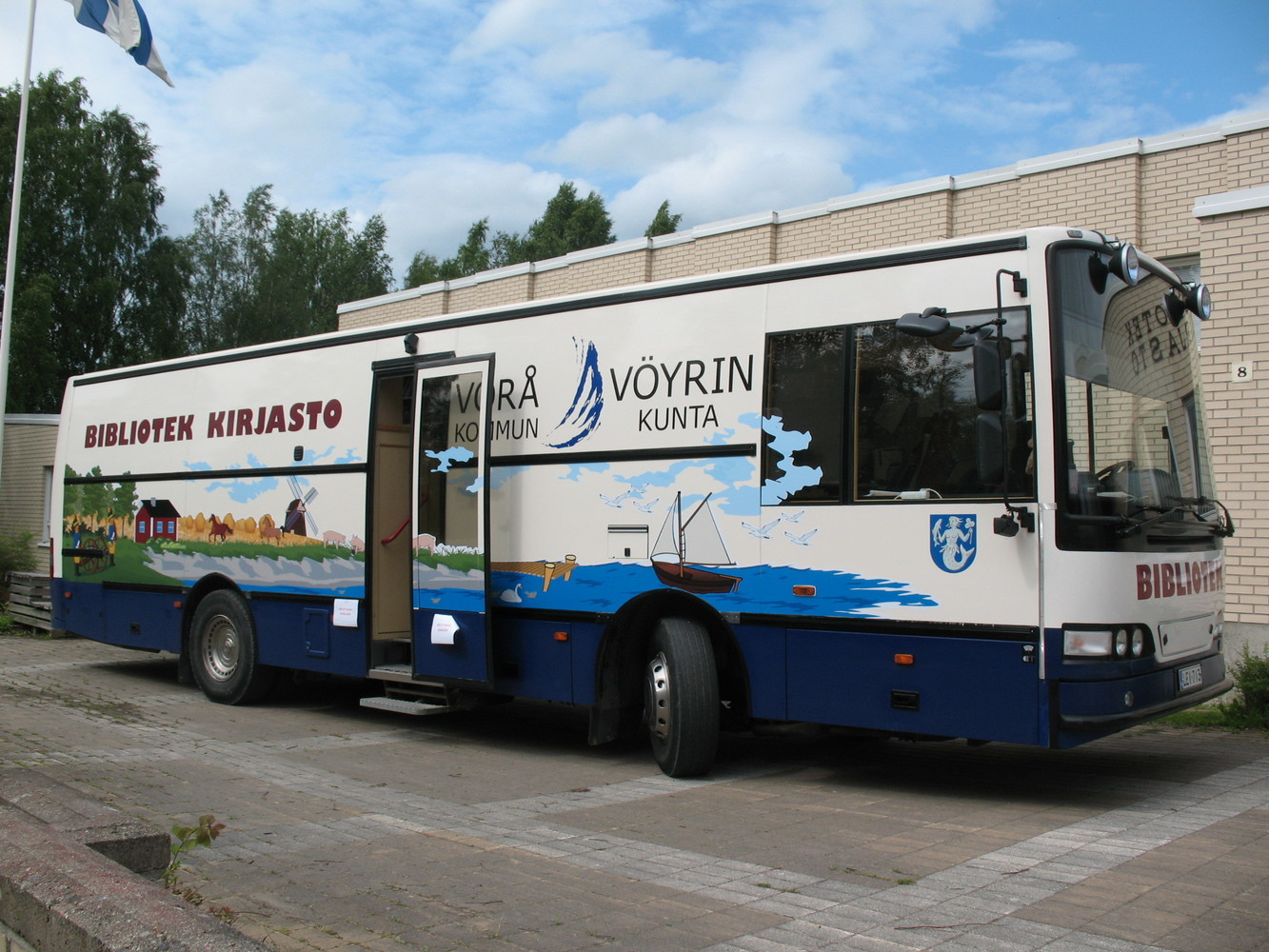 Vörå Library bus