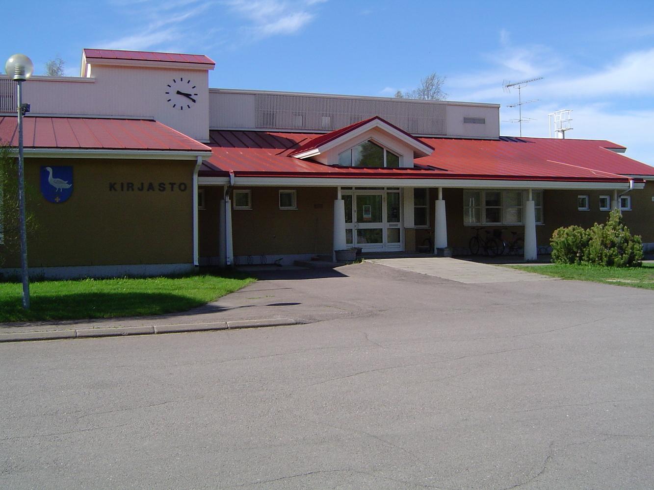 Pyhäjoen kirjasto