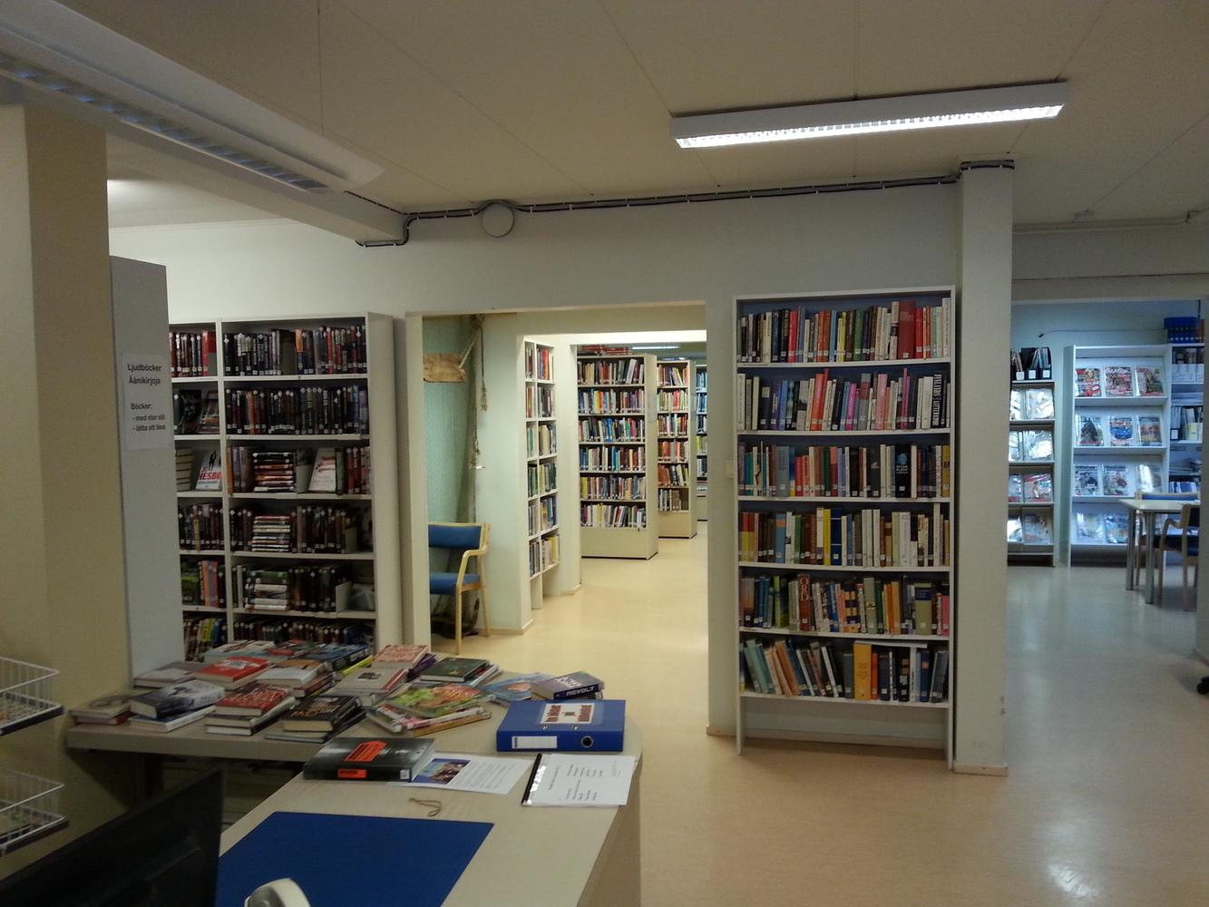 Oravaisten kirjasto