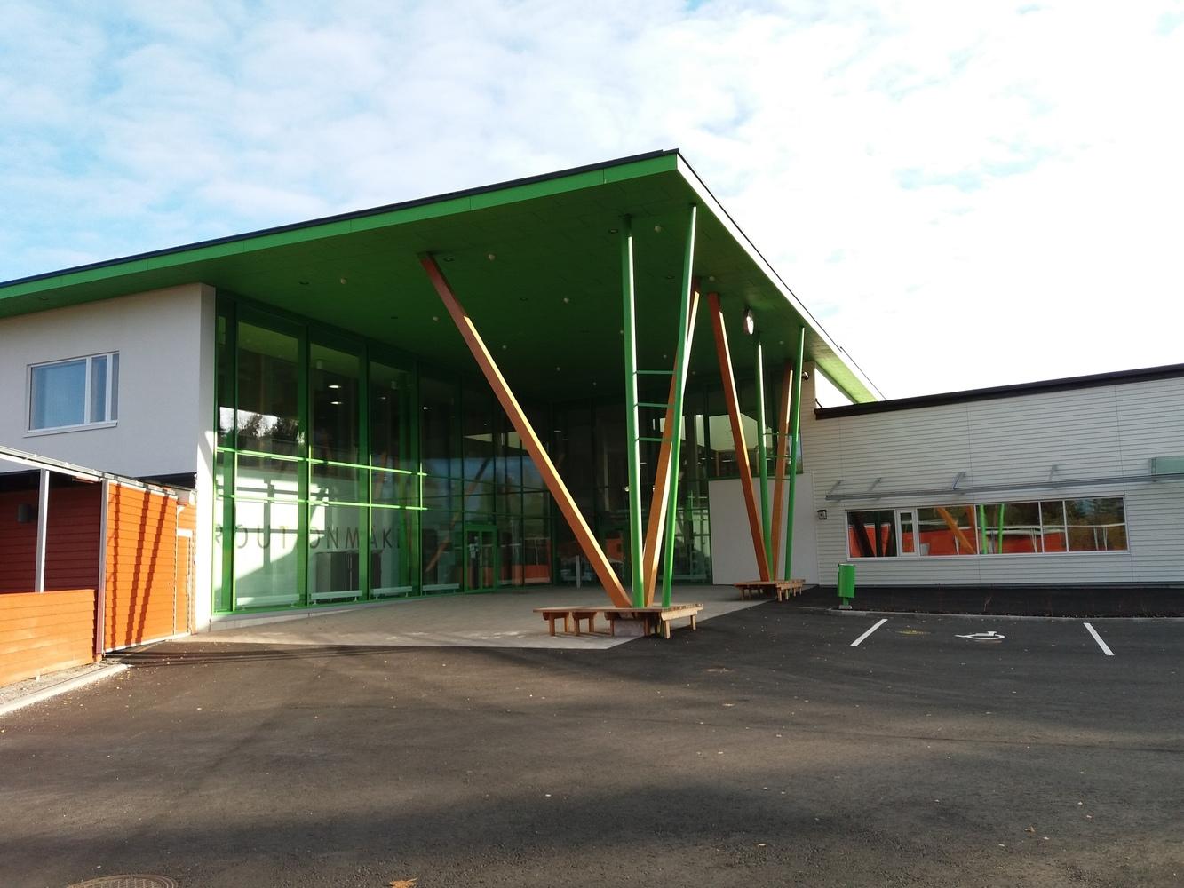 Lojo, Routionmäki bibliotek