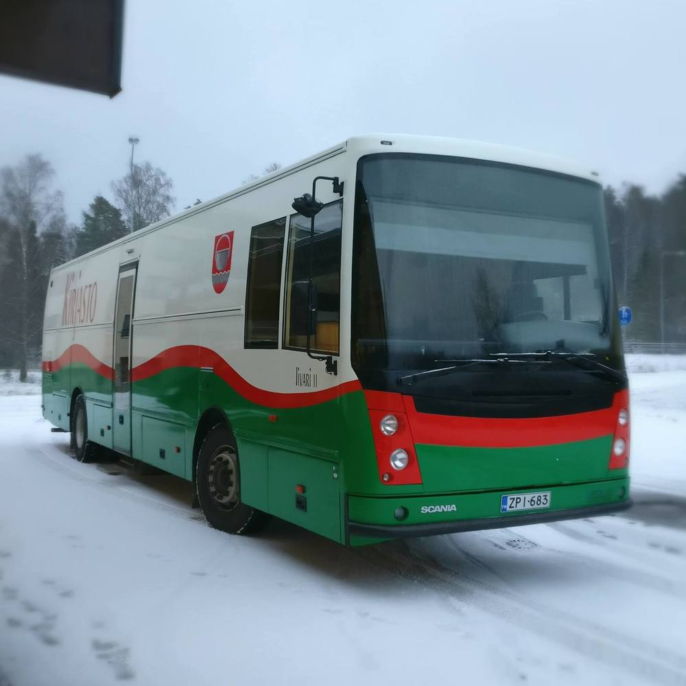 Kirjastoauto (Padasjoki)