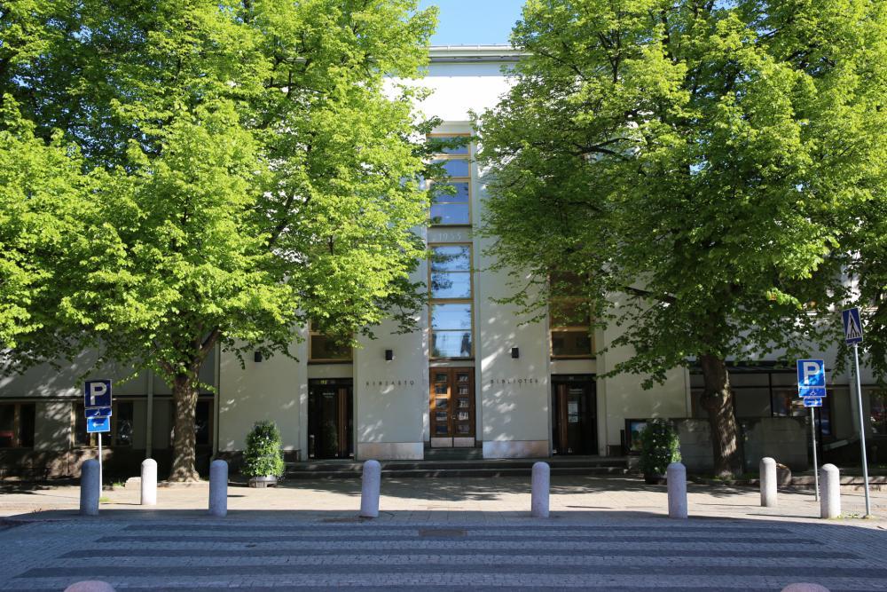 Pääkirjasto - Huvudbiblioteket