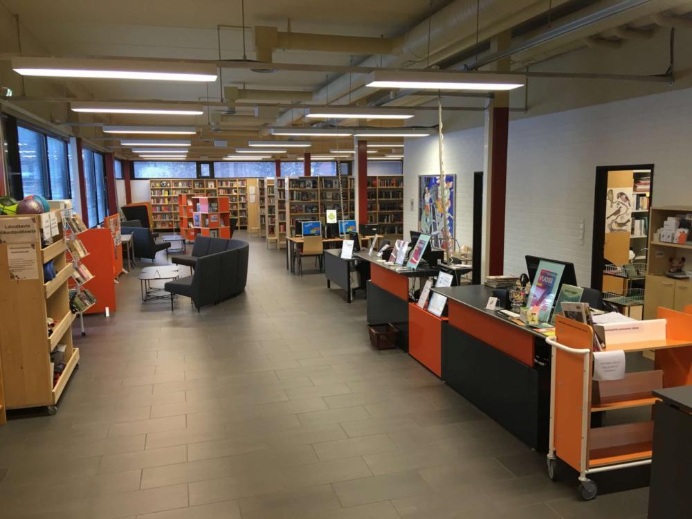 Huhtasuo Library