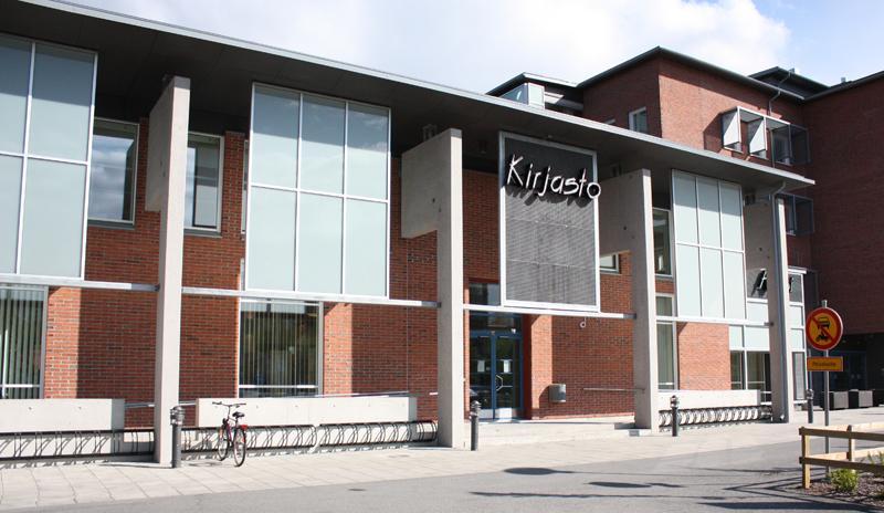 Rajakylä library