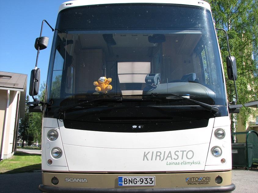 Kirjastoauto (Saarijärvi)