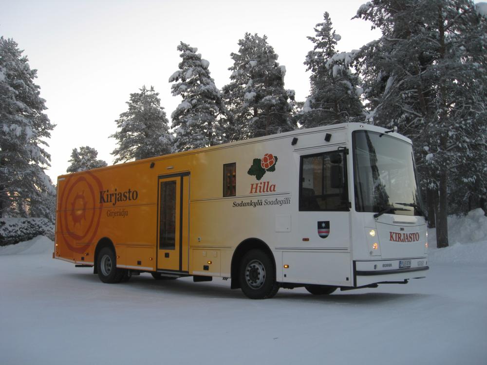 Sodankylän kirjastoauto Hilla