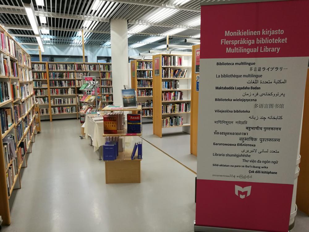 Monikielinen kirjasto
