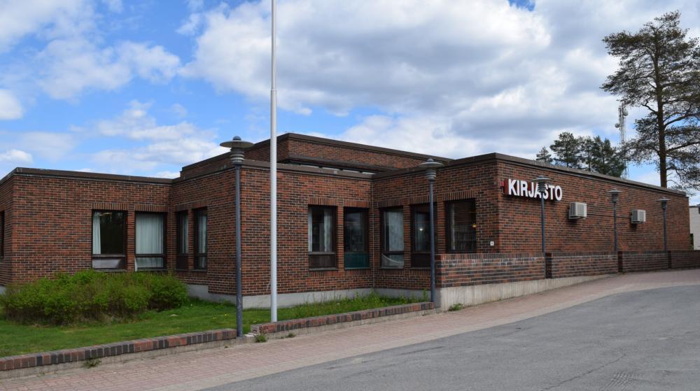 Pudasjärvi main library