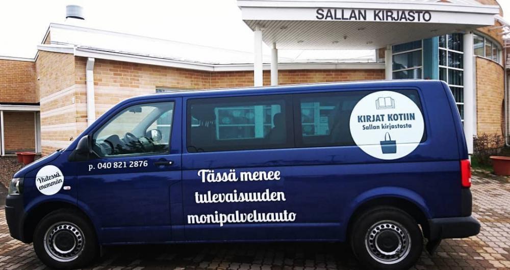Sallan kirjastoauto