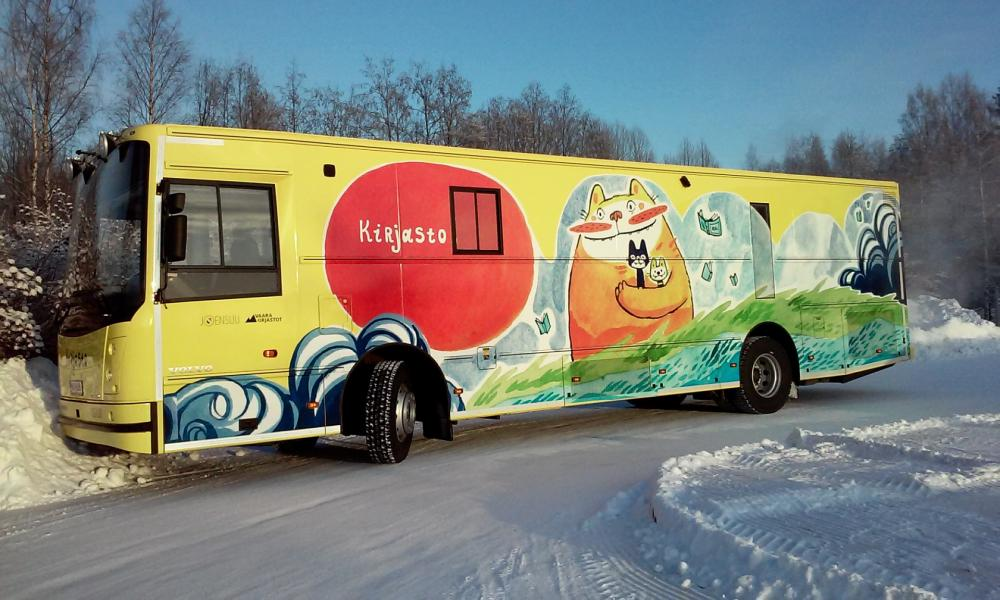 Joensuu mobile library