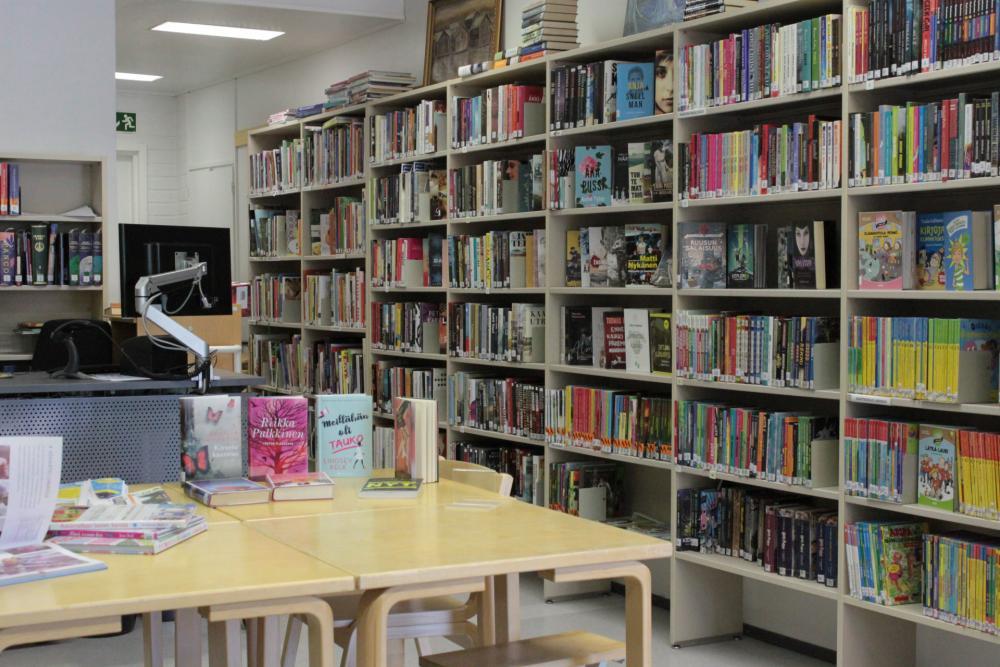 Merikaarron kirjasto