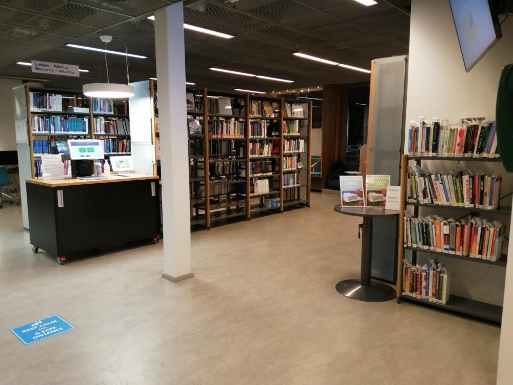 Haaga-Helian kirjasto | Haaga