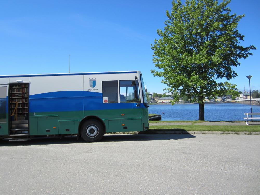 Kristiinankaupungin kirjastoauto