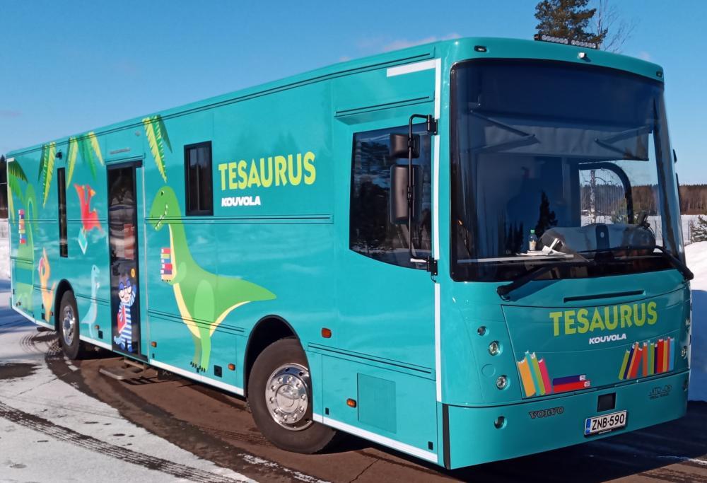 Kirjastoauto Tesaurus (Kouvola)