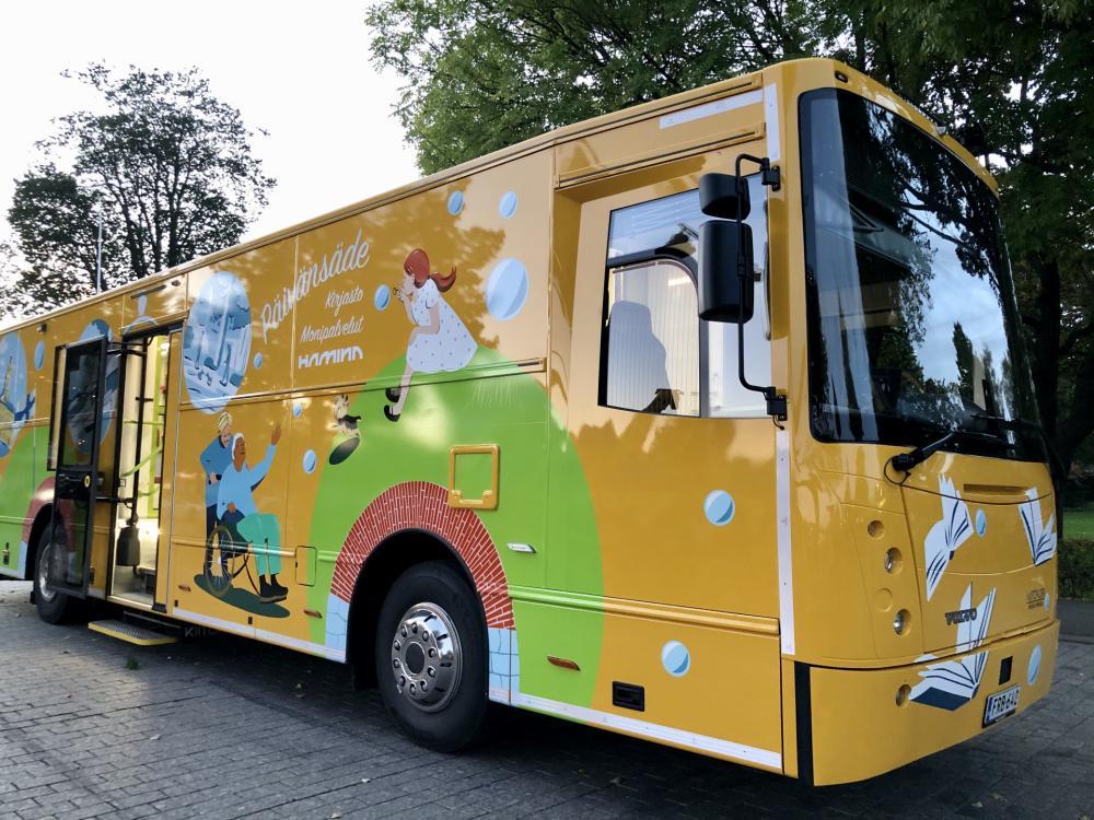 Kirjastoauto Päivänsäde (Hamina)
