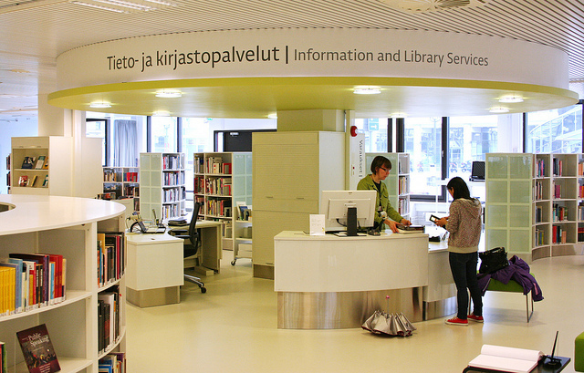 Academic Library FellmanniCampus