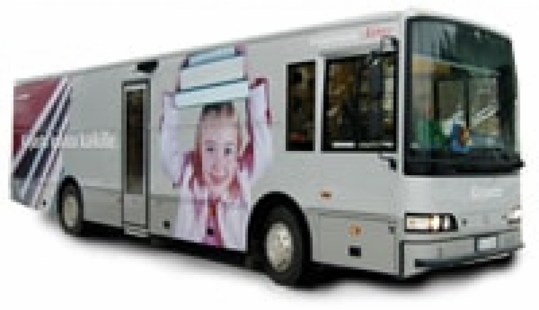 Kirjastoauto Aino