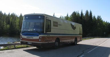 Kirjastoauto Vaeltaja (Kuhmo)