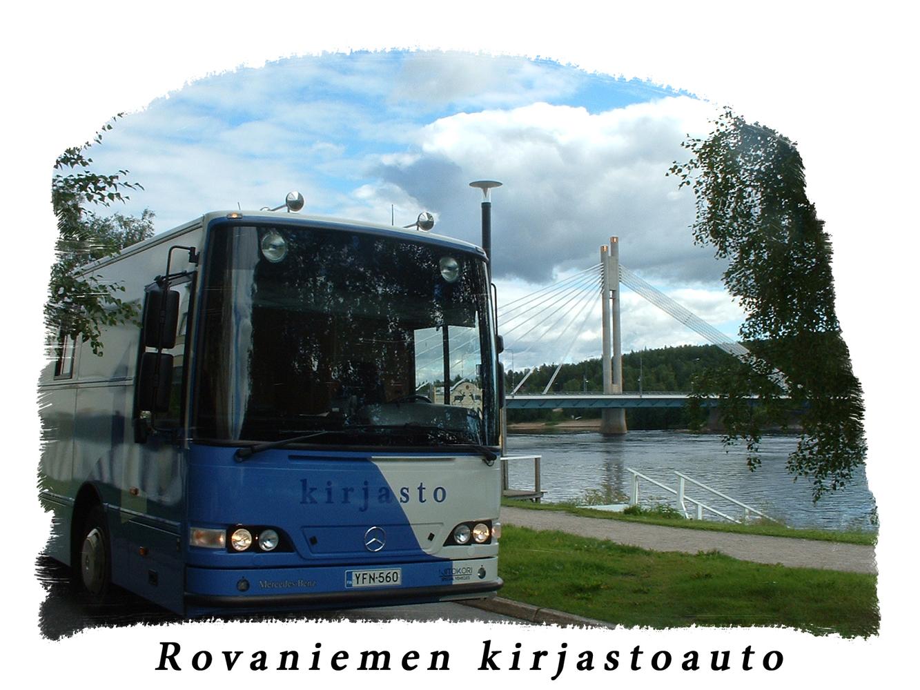 Rovaniemen kirjastoautot