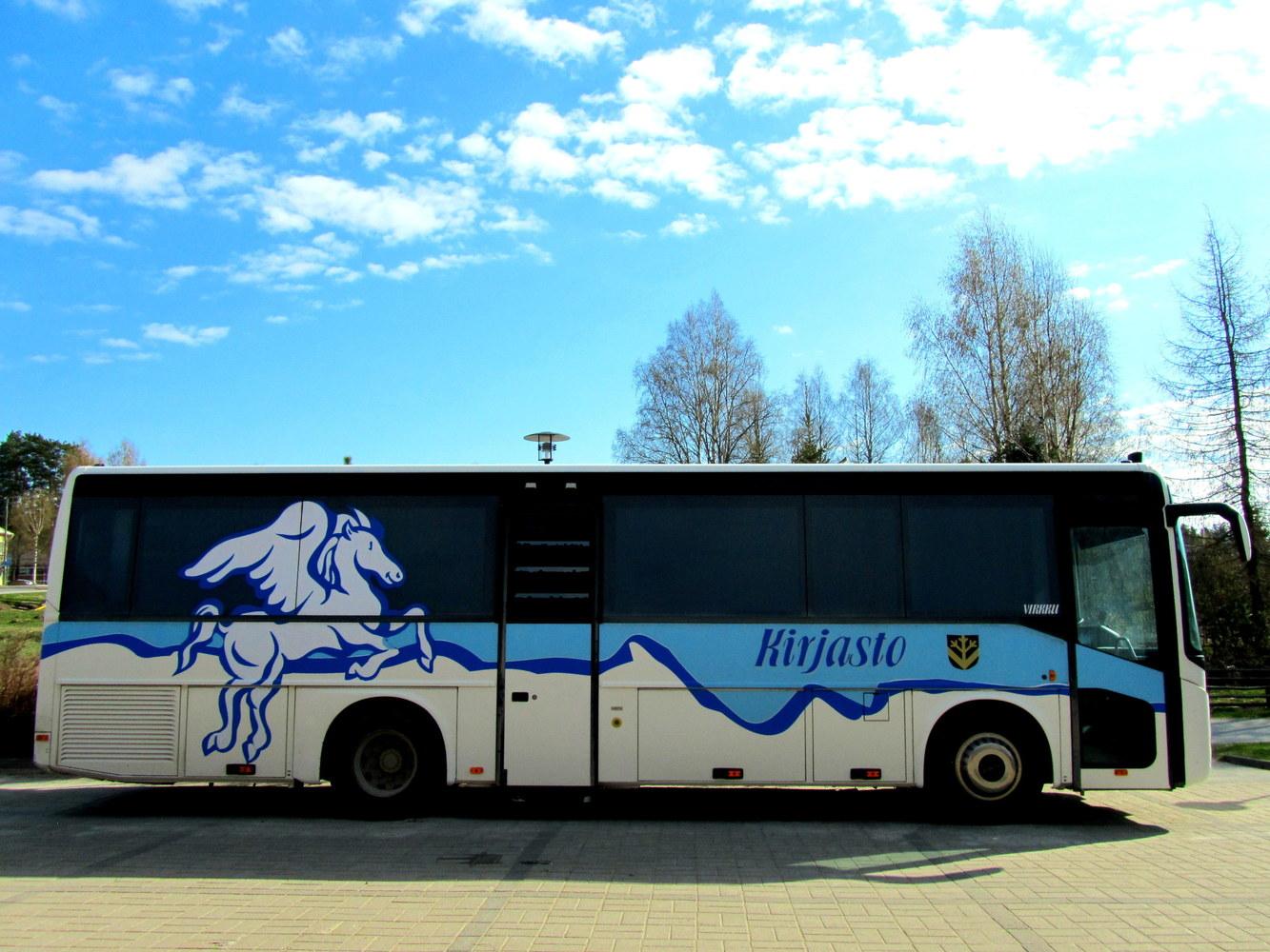 Vieremän kirjastoauto Virkku