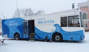 Kirjastoauto / Bokbussen (Pernaja)