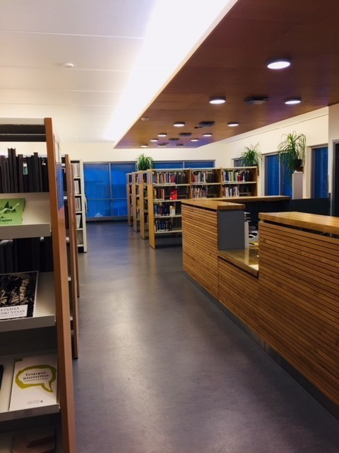 Hamk library Evo