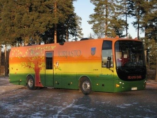 Kirjastoauto Frans Emil (Hämeenkyrö)