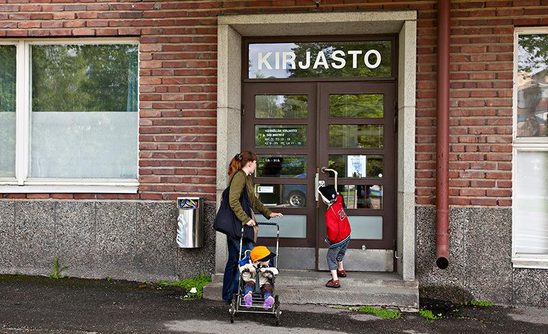 Härmälän kirjasto