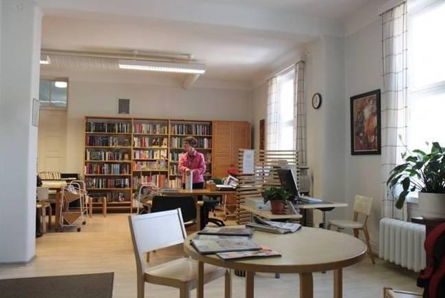 Aurora sjukhus patientbibliotek