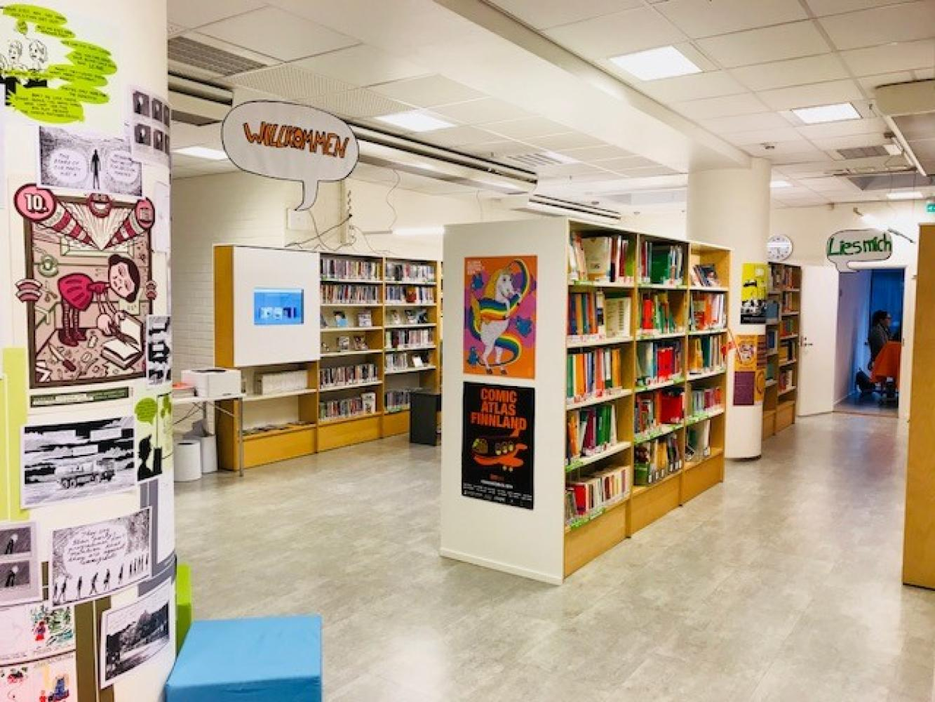 Goethe-Institutin kirjasto