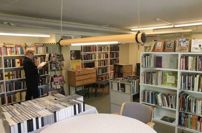 Biblioteket vid Gustafsgårds åldringscentral