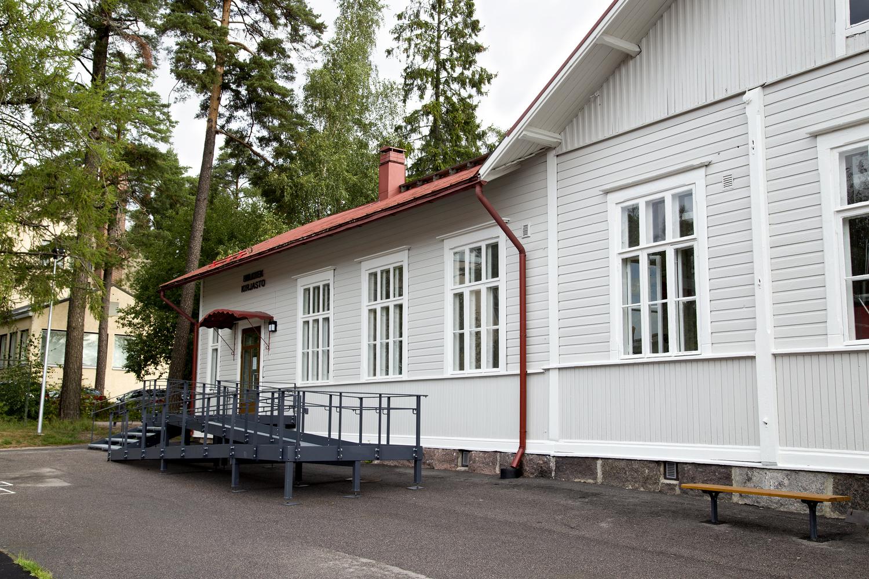 Hiekkaharjun kirjasto