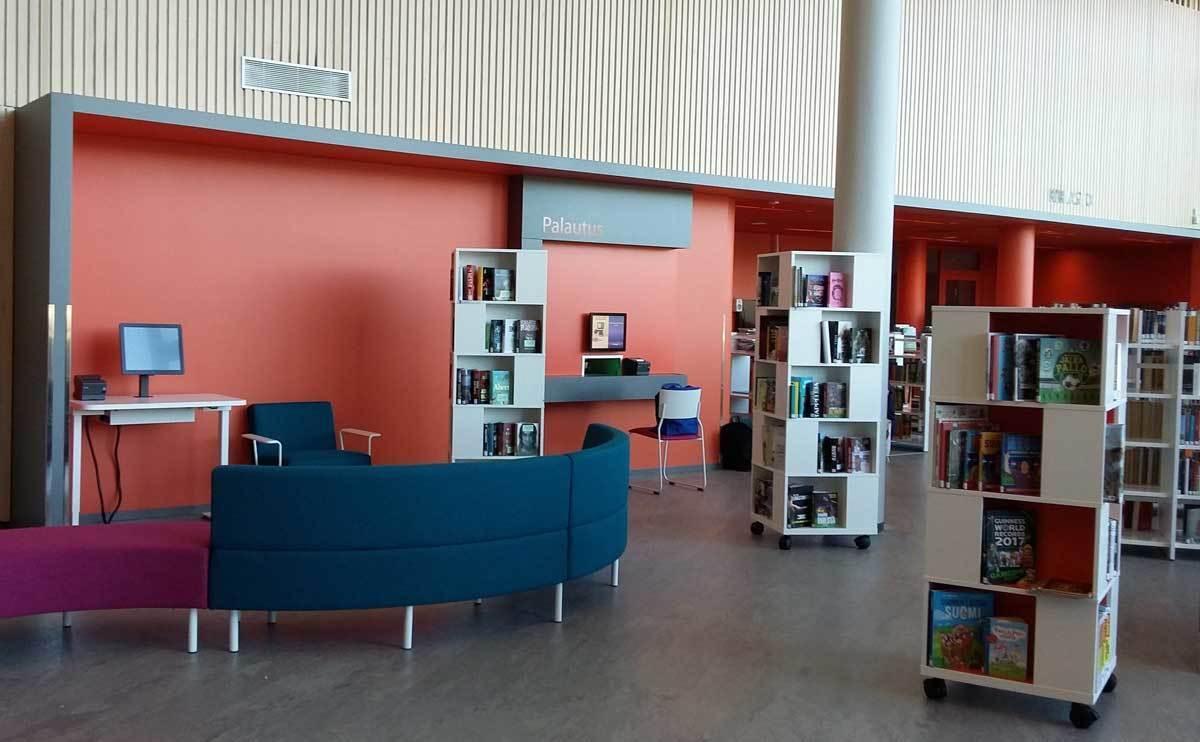 Hiukkavaaran kirjasto