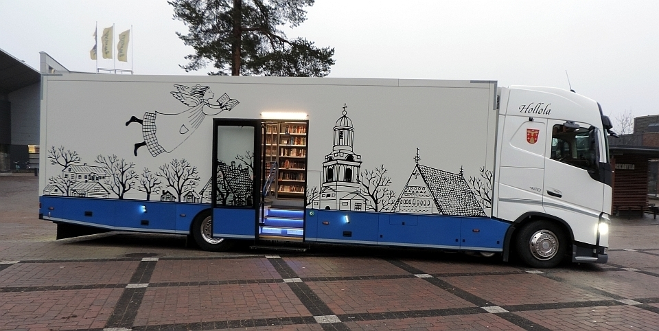 Hollola mobile library