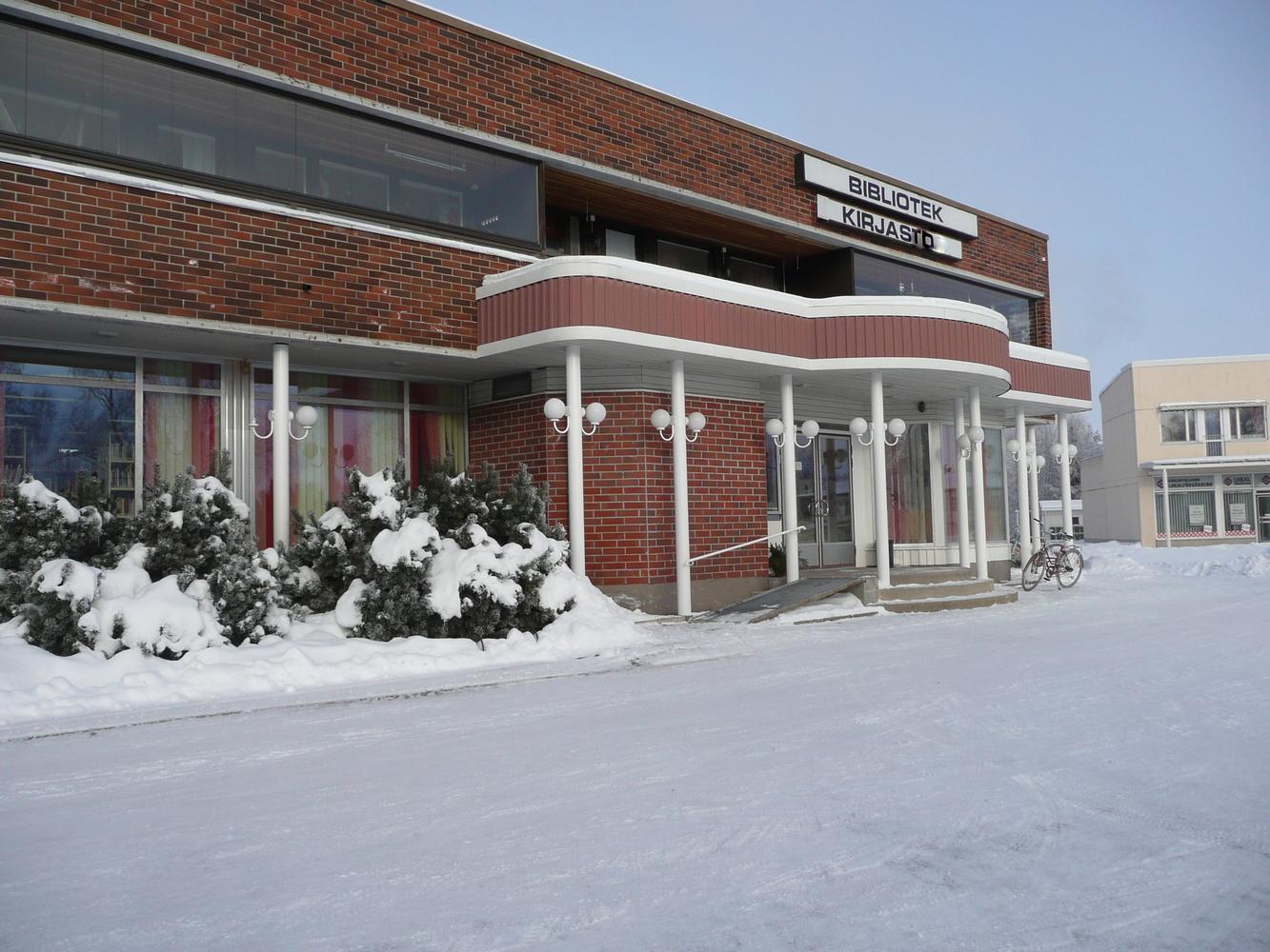 Kronoby huvudbibliotek