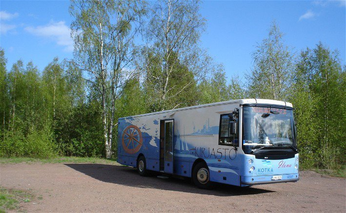 Bookmobile Ilona