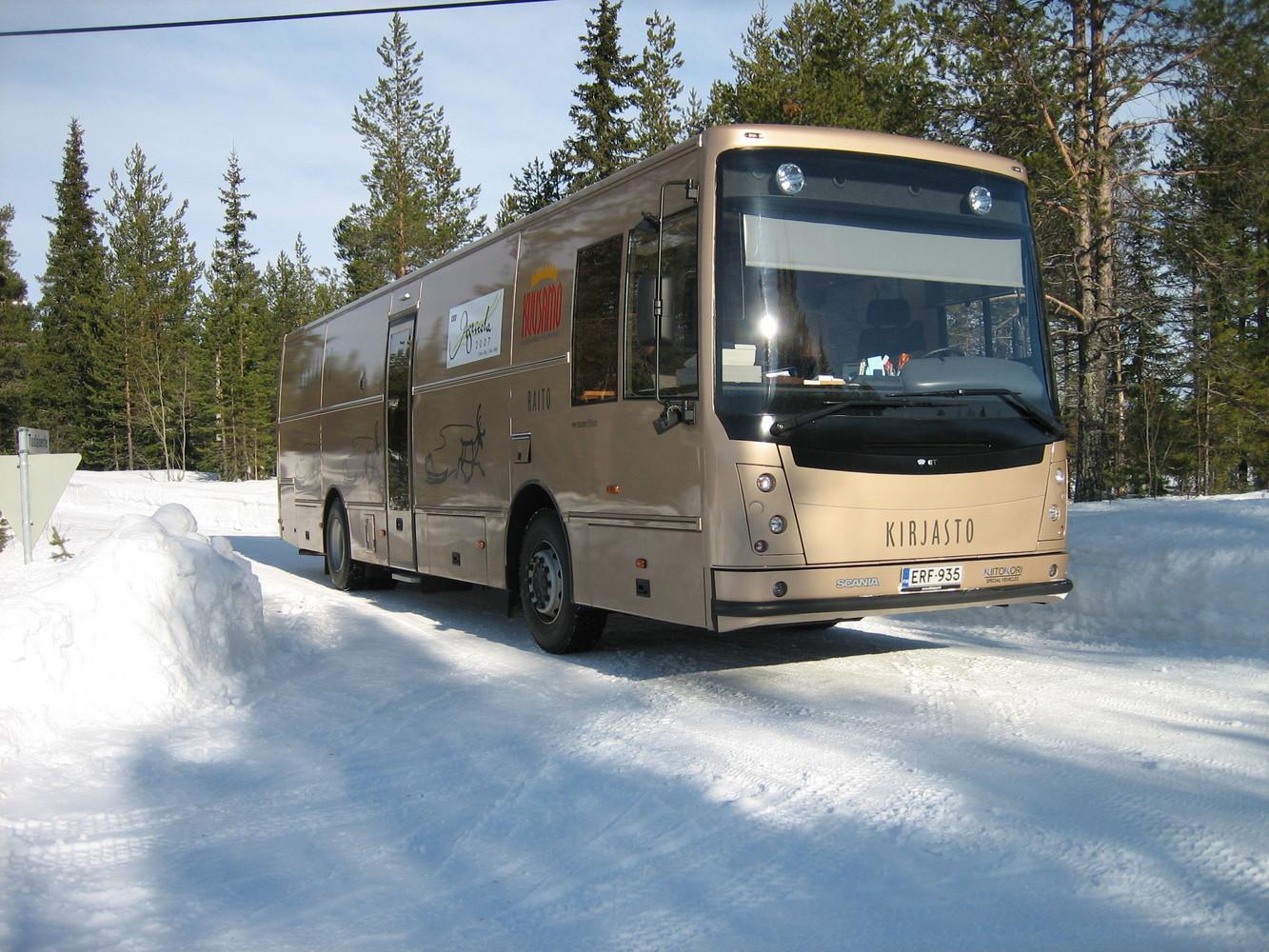 Kirjastoauto Raito (Kuusamo)