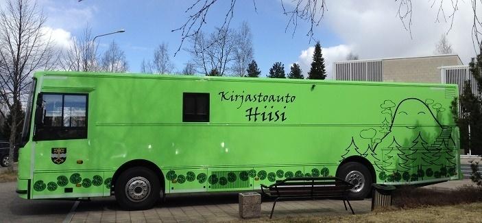 Bookmobile Hiisi