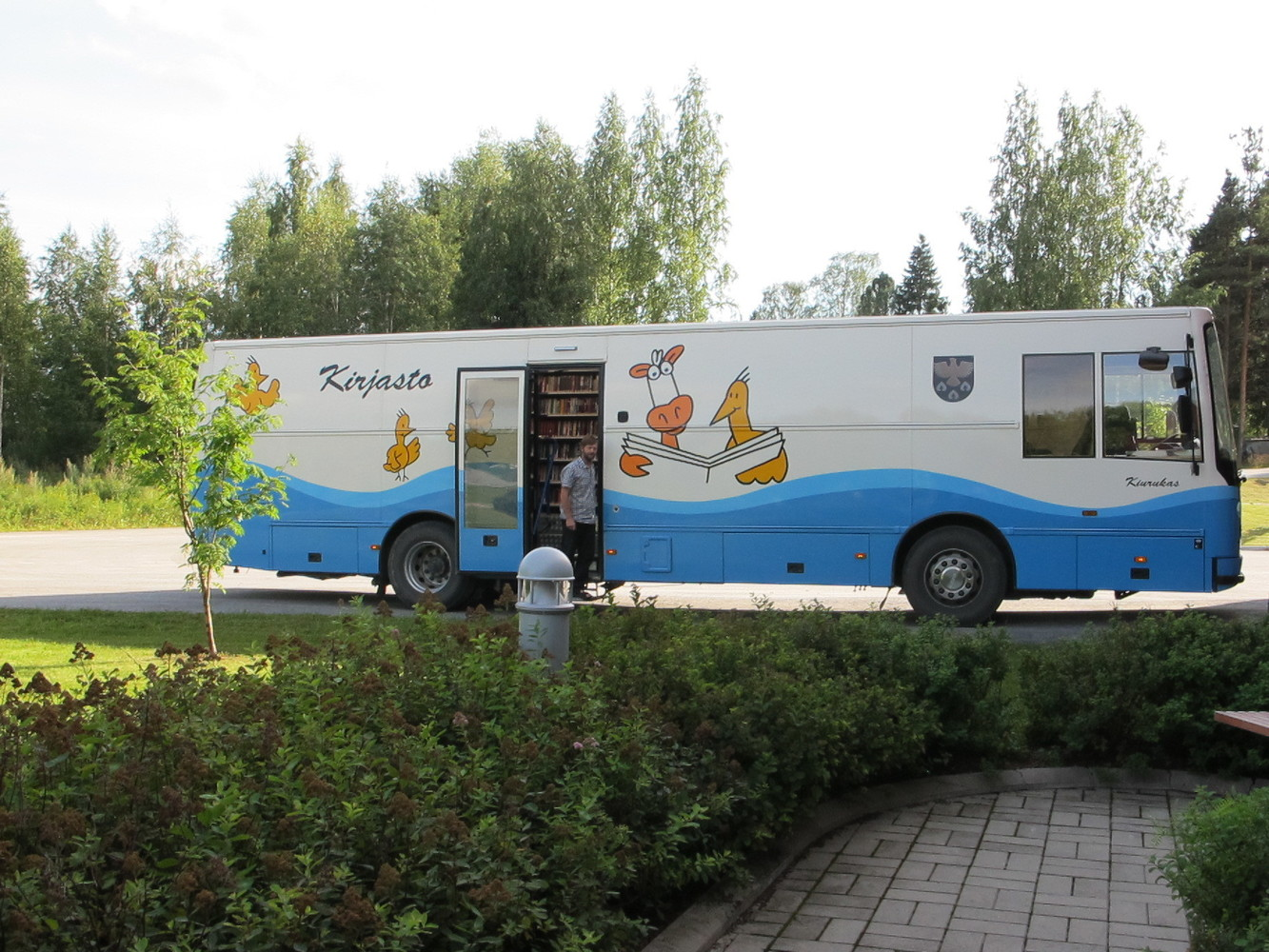 Kiuruveden kirjastoauto