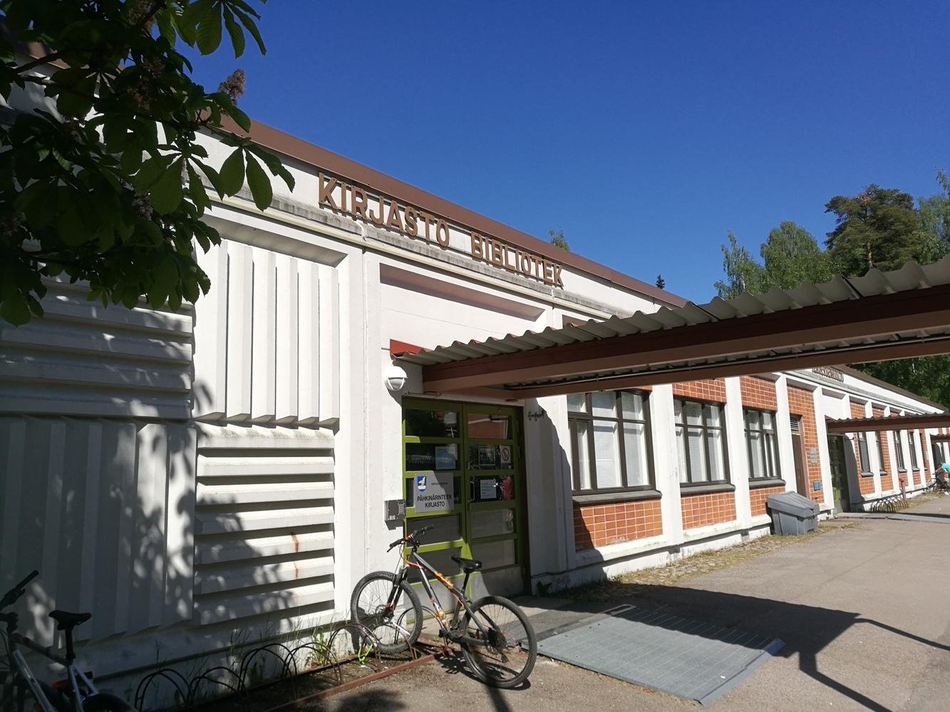 Pähkinärinteen kirjasto