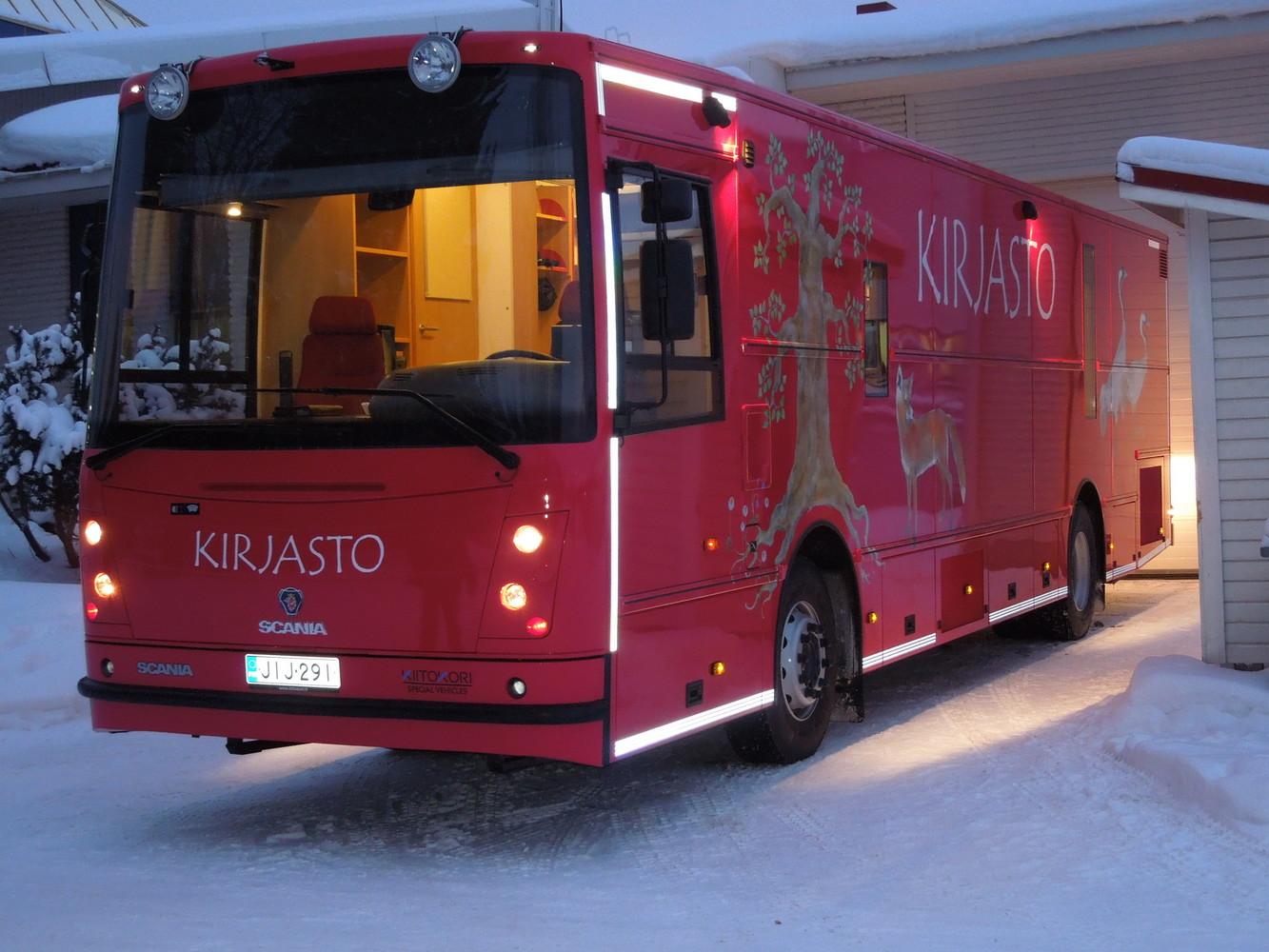 Liperin, Outokummun ja Polvijärven kirjastoauto