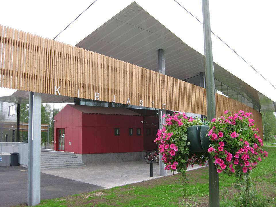 Liminka main library