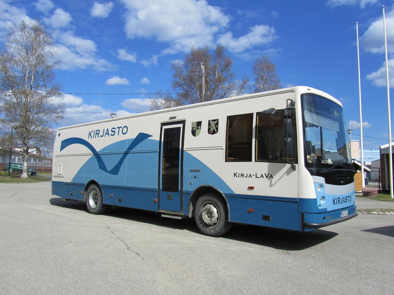 Lapinlahden kirjastoauto Kirja-LaVa