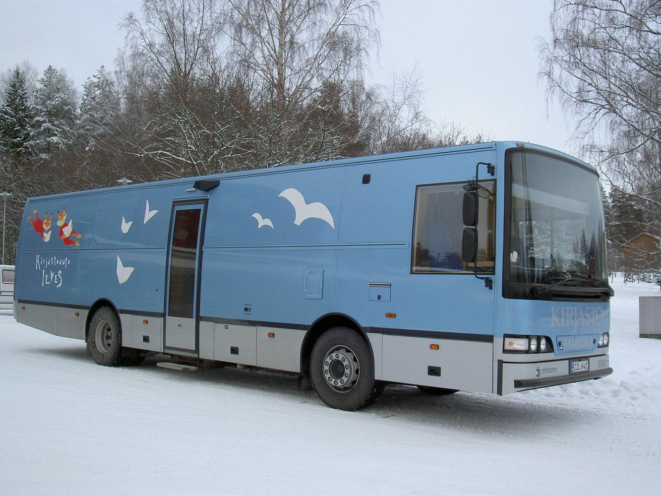 Tammelan kirjastoauto