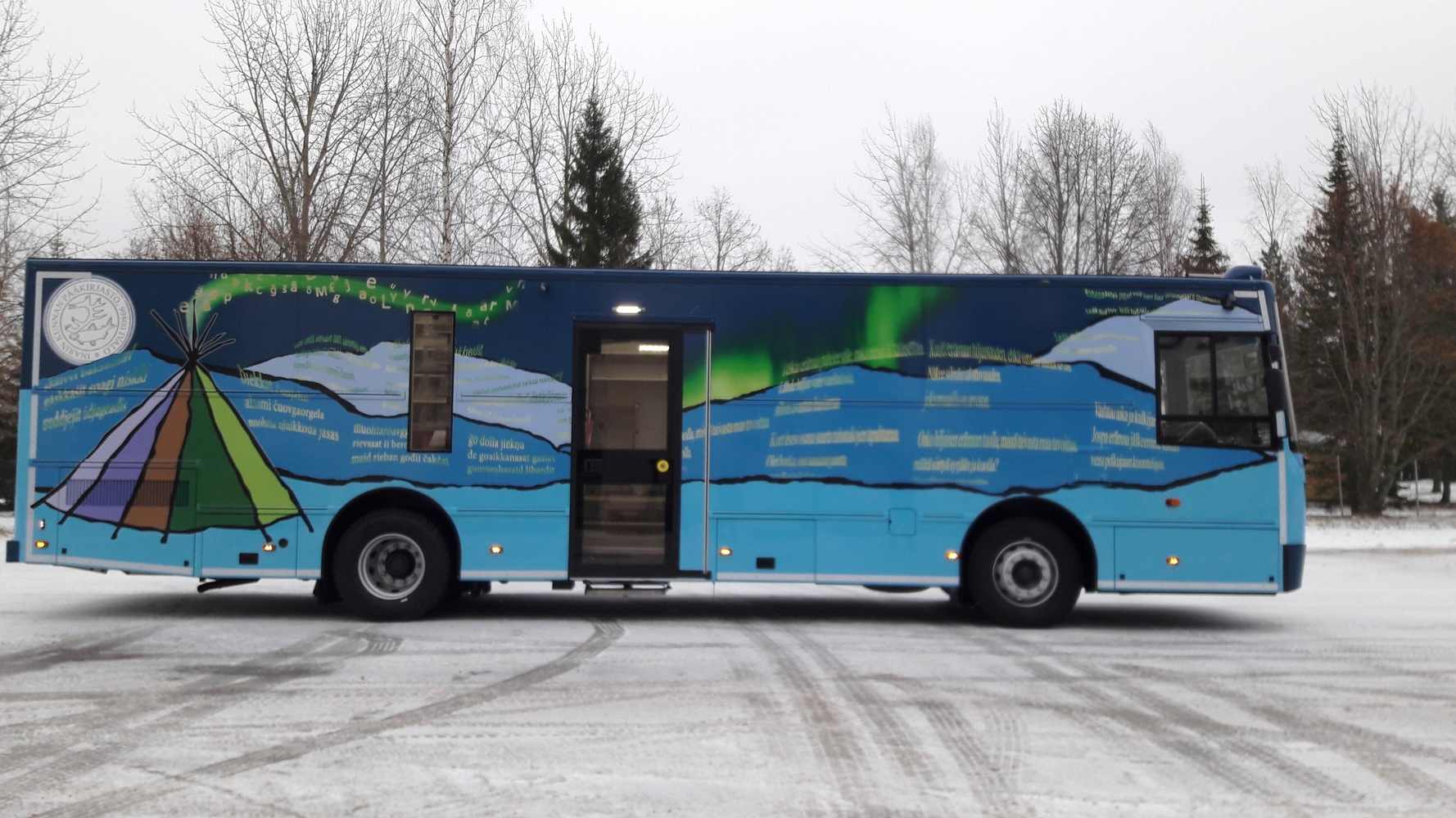 Inarin kunnan kirjastoauto