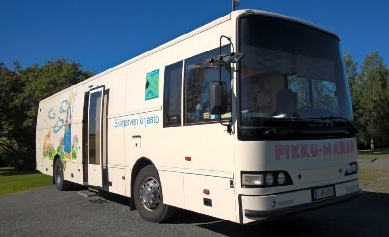 Kirjastoauto Pikku-Marja (Siilinjärvi)