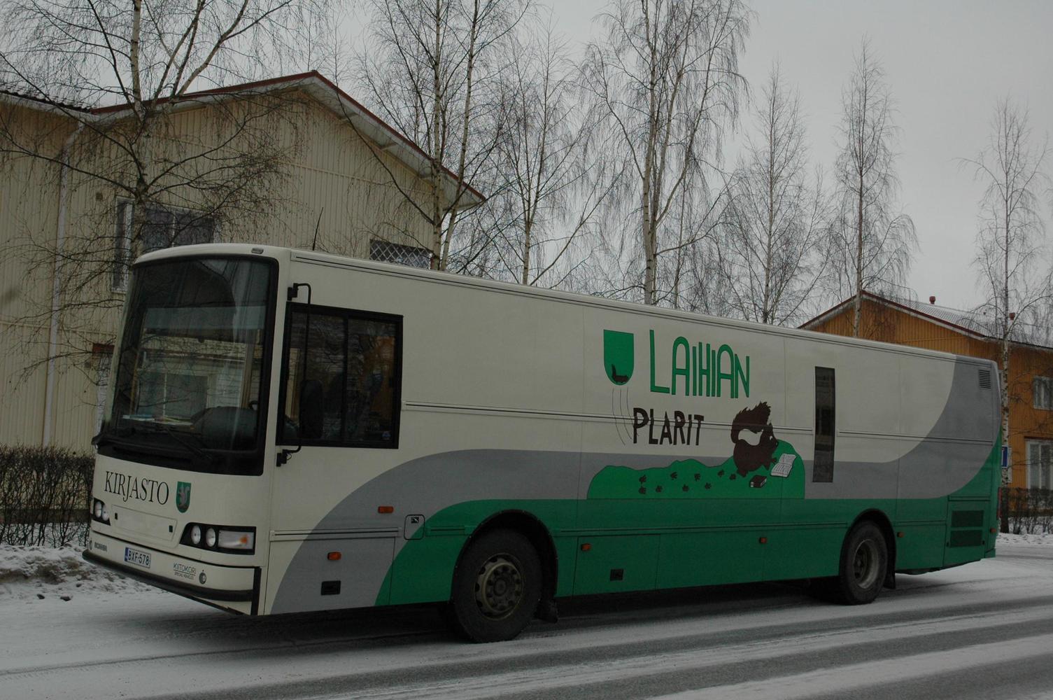 Kirjastoauto Plarit II (Laihia)