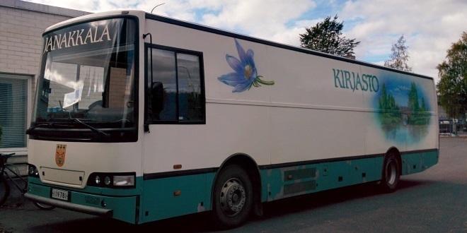 Janakkalan kirjastoauto